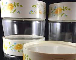 clear kitchen canisters stacking canisters etsy