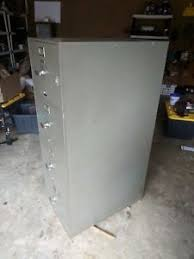 fireproof safe file cabinet vintage meilink built hercules one hour fireproof safe file cabinet