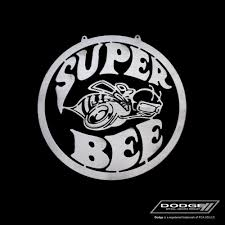 logo dodge dodge super bee sign speedcult officially licensed