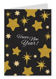 new year post card happy new year golden new year cards send real postcards