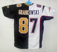 New England Patriots Newborn Clothes Split Nfl Game Jerseys