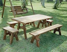 Plans For Picnic Table With Detached Benches by Build Yourself A Picnic Table With One Of These 14 Free Plans