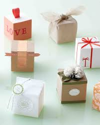 wedding party favor boxes 10 ways to decorate a favor box martha stewart weddings