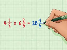 Multiplying Fractions By Whole Numbers Worksheets How To Multiply Mixed Numbers 7 Steps With Pictures Wikihow