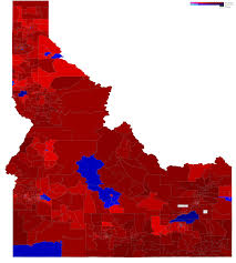 Election Map Results by Idaho Elections U2013 Ryne Rohla