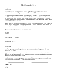 permission slip template download free documents for pdf word