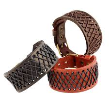 leather bracelet jewelry images 2018 wholesale punk male leather bracelet vintage braided charms jpg