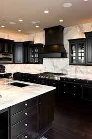 black kitchen cabinets with marble countertops white marble kitchen countertops design ideas countertopsnews