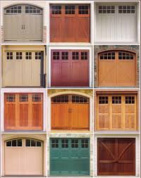 attractive wood carriage garage doors with signature carriage wood