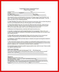 project proposal template apa example