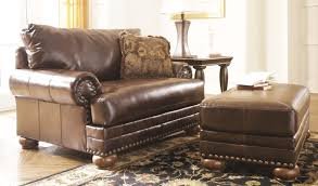 Oversized Loveseat With Ottoman Furniture Oversized Loveseat Luxury Distressed Leather Ottomans