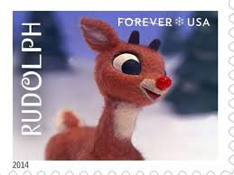 rudolph red nosed reindeer stamp approval