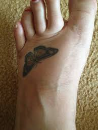 getting a foot tattoo get ready for the pain train tatring