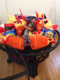 raffle gift basket ideas pit s mores raffle gift baskets craft
