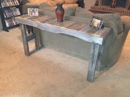 Slim Sofa Table by Sofa Table Made From Pallets Things I Built Pinterest Sofa