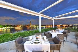 above riva rooftop restaurant at riva arun bangkok bangkok com