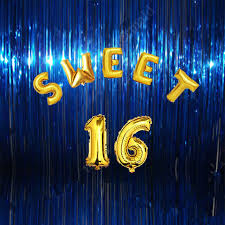 balloon decorations mylar number letter sweet 16 decoration golden shinning letter digital balloons foil