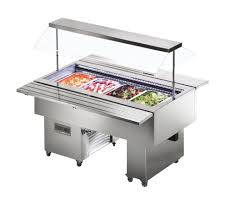 igloo gastroline glc 1000 3 pan buffet display cold service