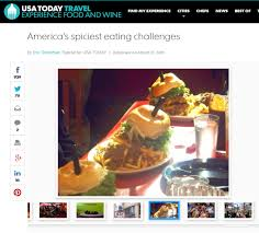 Challenge Usa Today Atomic Bomb Challenge In Usa Today S Spiciest Challenges