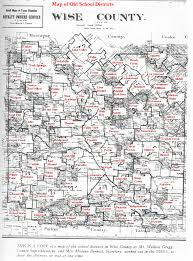 Tx County Map Wise County Texas Schools
