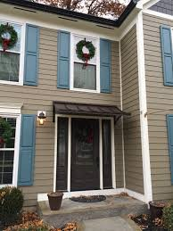 Awning Doors Concave Metal Door Awning In West Chester Township Oh Concave