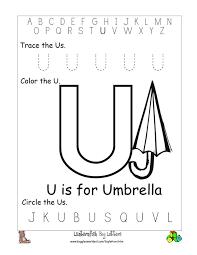 letter u worksheets preschool worksheets