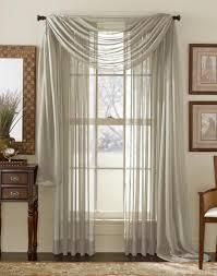 15 photos extra long voile curtains curtain ideas