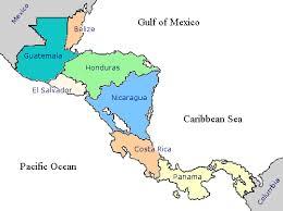 america map honduras surf trip destination central america by surftrip