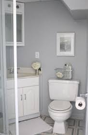 bathroom small bathroom remodels in gray theme with corner walk