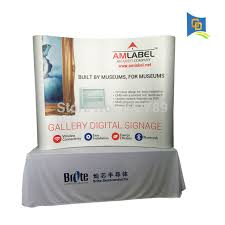 table top banners for trade shows high quality pop up table top banner display stand backdrop banner
