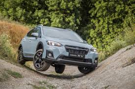subaru crosstrek interior 2018 2019 subaru xv first test forester redesign with new technology