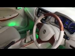 Car Modifications Interior Baleno New Interior Modified With Witty Lights And Alloy Wheels