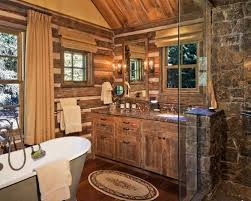 cabin bathroom designs small log cabin bathrooms houzz inside cabin bathroom designs