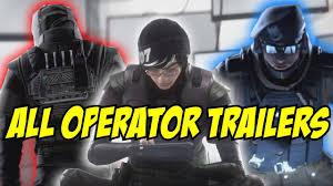 rainbow six siege all new operators trailer operation white noise