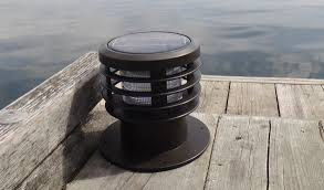 Solar Dock Lighting by First Light Technologies Launches Wlb Series Solar Led Bollard At
