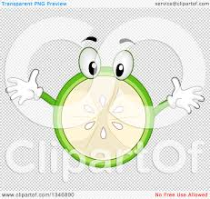 margarita cartoon transparent clipart of a cartoon lime character with open arms royalty free