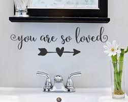 Bathroom Decals For Kids Wall Decals Vinyl Lettering Monograms Peel And By Justthefrosting