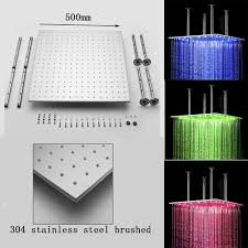 Shower Head In Ceiling by Best Price 20 Inch Stainless Steel Shower Head With Color Changing