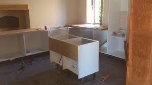 construire un ilot central cuisine ment construire un ilot central de cuisine maison design dans frais