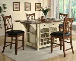kitchen island table with chairs kitchen island table sets meetmargo co