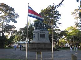 Costarican Flag The National Monument Of Costa Rica U2013 The Real San José