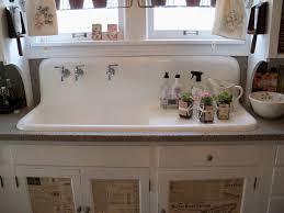 kitchen sink with backsplash how to manage farmhouse kitchen sink a large storage for washing