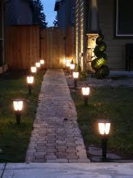 Solar Landscape Lights Home Depot Astonishing Design Outdoor Walkway Lighting Magnificent How To