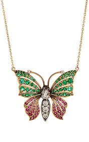 necklace with butterfly pendant images Stephanie windsor antiques victorian butterfly pendant necklace