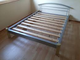 Ikea Bed Frame King Size Secure When Install Ikea Metal Bed Frame Classic Creeps