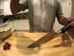 grape drop on the mac msk 65 santoku youtube