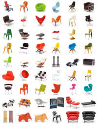 Types Of Armchairs Designer Chair Collection 42 Perfect 1 12 Replicas Cool
