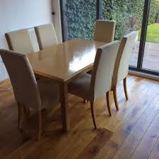 Marks And Spencer Dining Room Furniture Marks Spencer Lichfield Solid Oak Dining Table And 6 Chairs In