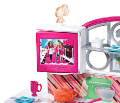 How To Make Doll Kitchen Amazon Com Barbie Stovetop To Tabletop Deluxe Kitchen And Doll