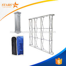 photo backdrop stand factory price aluminum stage backdrop stand tension fabric